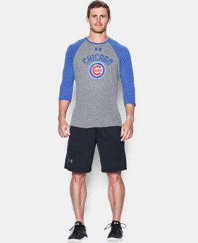Men's Chicago Cubs Vintage ¾ Sleeve