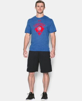 New Arrival Men's Chicago Cubs Vintage Tri-blend  1 Color $34.99