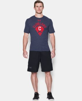Men's Cleveland Indians Vintage Tri-blend LIMITED TIME: FREE U.S. SHIPPING  $34.99