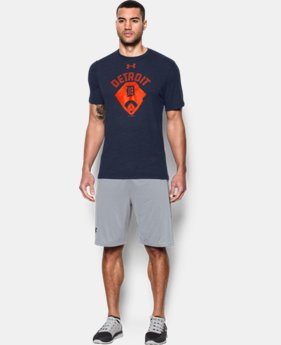 Men's Detroit Tigers Vintage Tri-blend