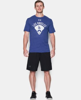 Men's Los Angeles Dodgers Vintage Tri-blend LIMITED TIME: FREE SHIPPING  $34.99