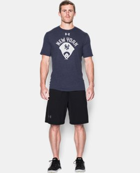 Men's New York Yankees Vintage Tri-blend LIMITED TIME: FREE SHIPPING  $34.99
