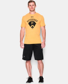 Men's Pittsburgh Pirates Vintage Tri-blend LIMITED TIME: FREE U.S. SHIPPING  $34.99