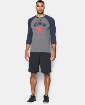 Men's Washington Nationals Vintage ¾ Sleeve