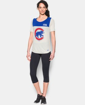New Arrival Women's Chicago Cubs Vintage Shirzee  1 Color $39.99