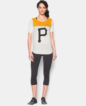 Women's Pittsburgh Pirates Vintage Shirzee LIMITED TIME: FREE SHIPPING 1 Color $39.99