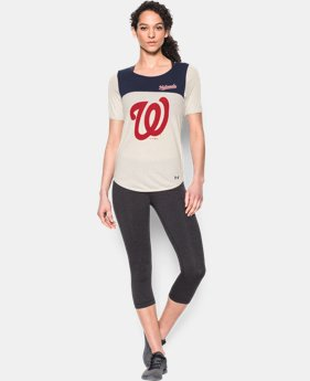 Women's Washington Nationals Vintage Shirzee LIMITED TIME: FREE SHIPPING 1 Color $39.99