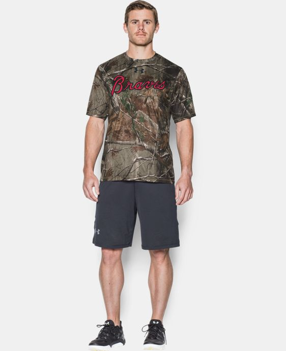 Men's Atlanta Braves Camo T-Shirt LIMITED TIME: FREE U.S. SHIPPING 1 Color $49.99