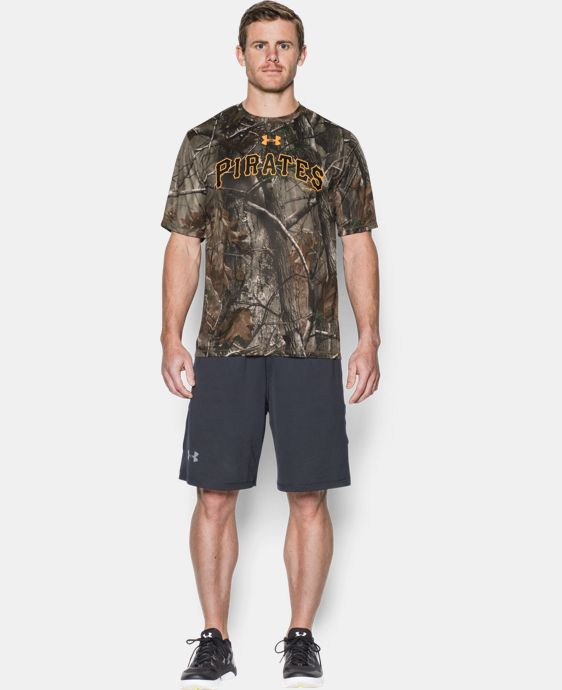 Men's Pittsburgh Pirates Camo T-Shirt LIMITED TIME: FREE U.S. SHIPPING 1 Color $49.99