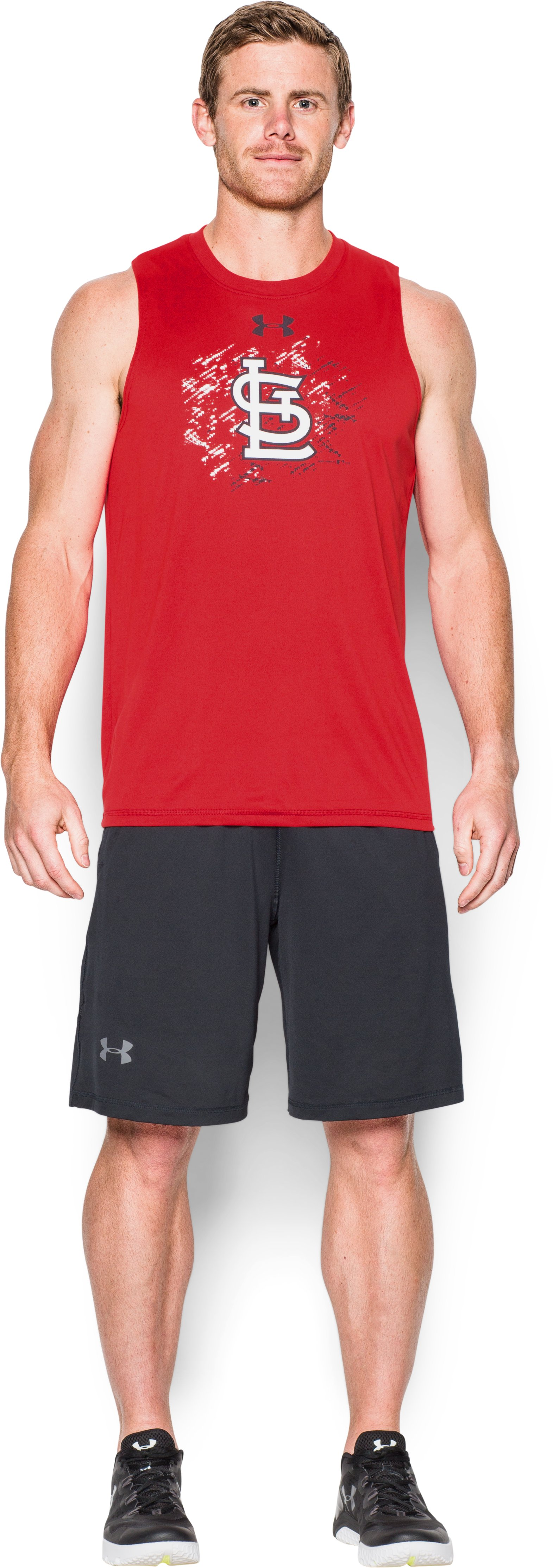 Men's St. Louis Cardinals Tech™ Tank, Red, zoomed image