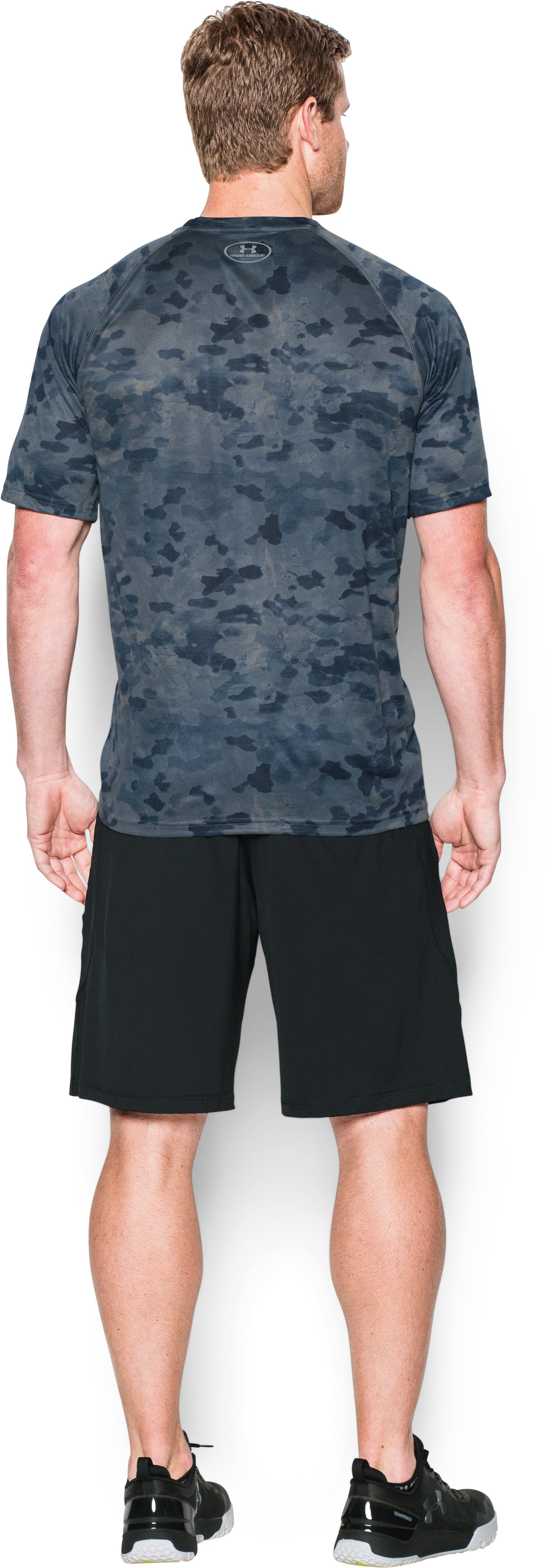 Men's Detroit Tigers Camo Tech™ T-Shirt, Midnight Navy, Back