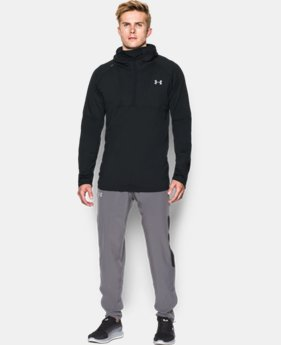 New Arrival  Men's UA NoBreaks Run Balaclava Hoodie LIMITED TIME: FREE SHIPPING 1 Color $89.99