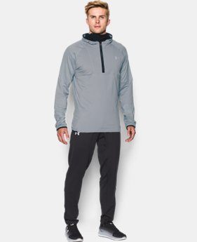 Men's UA NoBreaks Run Balaclava Hoodie  1 Color $79.99