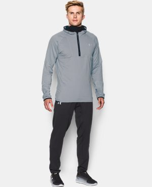 Men's UA No Breaks Run Balaclava Hoodie   $79.99