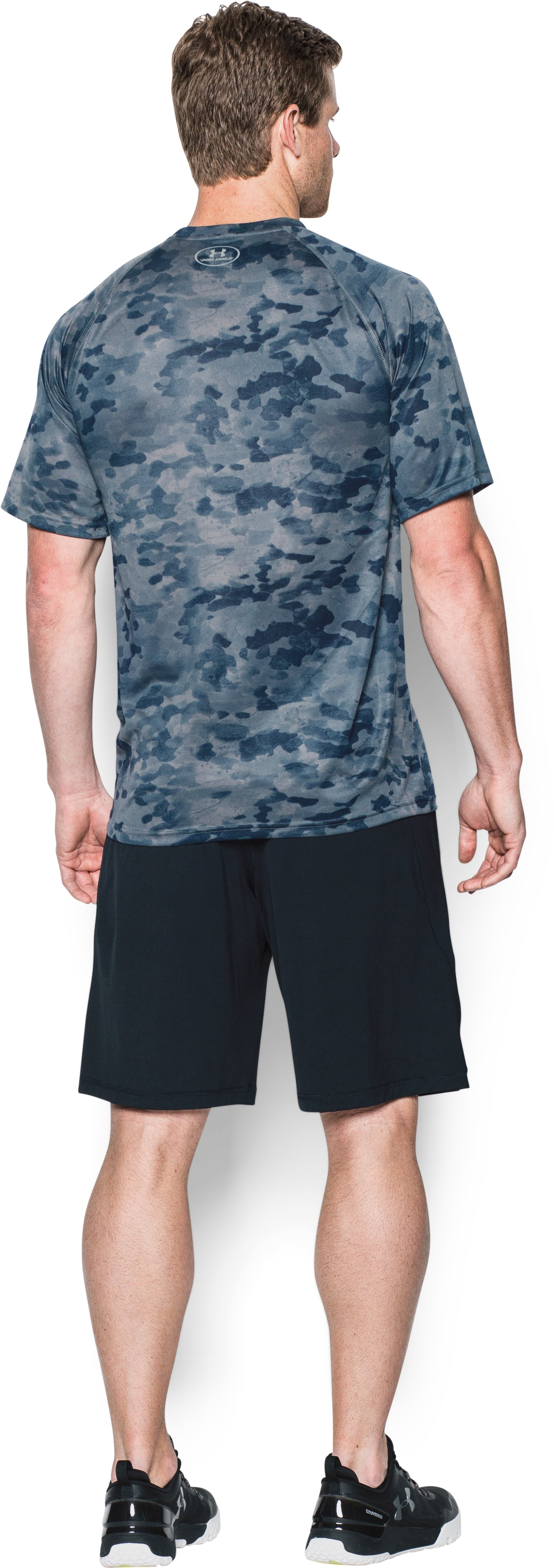 Men's Seattle Mariners Camo Tech™ T-Shirt, Midnight Navy, Back