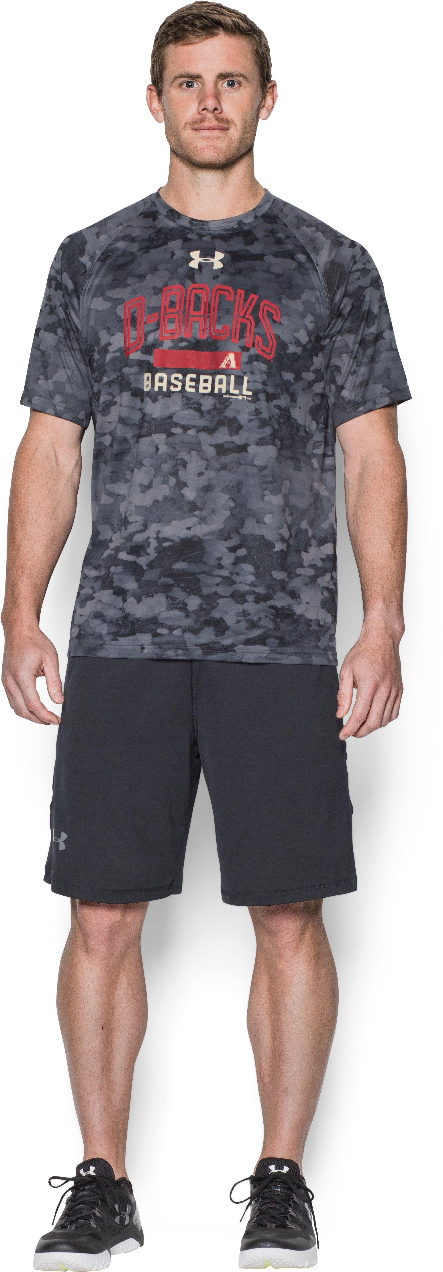 Men's Arizona Diamondbacks Camo Tech™ T-Shirt, Black , Front