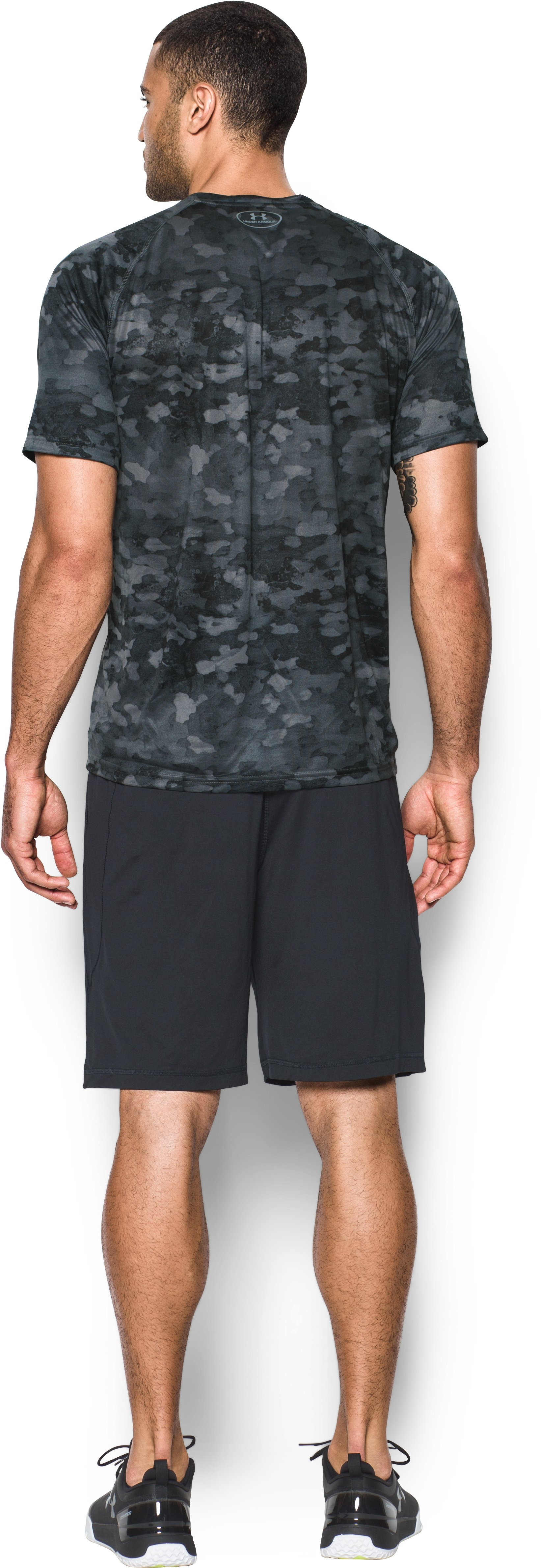 Men's Miami Marlins Camo Tech™ T-Shirt, Black , Back