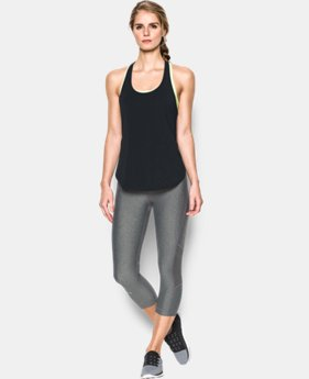 Women's UA Essential Racer Tank LIMITED TIME: FREE SHIPPING 1 Color $39.99