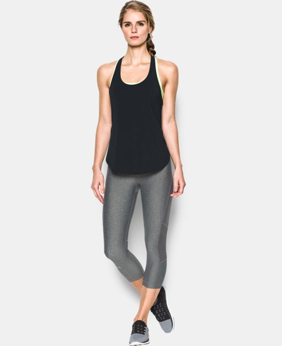 Women's UA Essential Racer Tank LIMITED TIME: FREE U.S. SHIPPING 1 Color $26.99