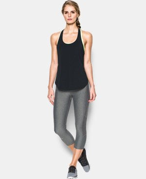 New Arrival  Women's UA Essential Racer Tank LIMITED TIME: FREE SHIPPING 1 Color $29.99