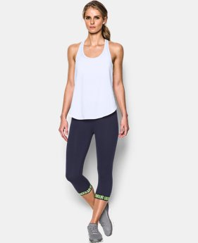 Women's UA Essential Racer Tank LIMITED TIME: FREE SHIPPING 1 Color $34.99