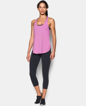 Women's UA Essential Racer Tank LIMITED TIME: FREE SHIPPING  $34.99