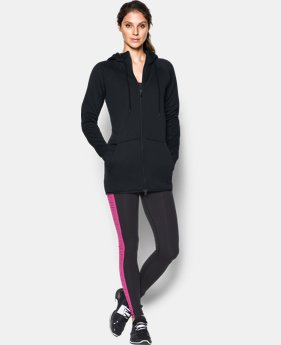 Women's UA Storm Armour® Fleece Long Full Zip   $67.99