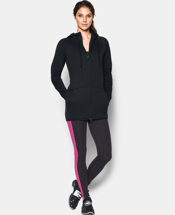 Women's UA Storm Armour® Fleece Long Full Zip LIMITED TIME: FREE SHIPPING 2 Colors $67.99