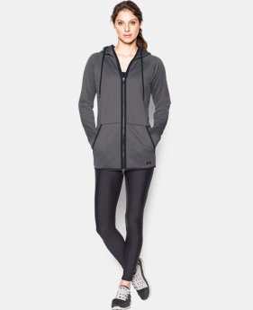 New Arrival  Women's UA Storm Armour® Fleece Long Full Zip  1 Color $89.99