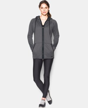 Women's UA Storm Armour® Fleece Long Full Zip LIMITED TIME: FREE SHIPPING 1 Color $67.99