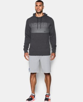 New Arrival Men's UA Sportstyle Fleece Graphic Hoodie  3 Colors $59.99