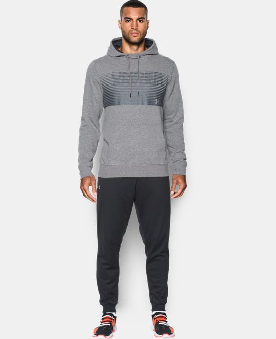 New Arrival  Men's UA Sportstyle Fleece Graphic Hoodie  1 Color $69.99