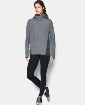 Women's UA ColdGear® Infrared Popover Hoodie LIMITED TIME OFFER + FREE U.S. SHIPPING  $59.99