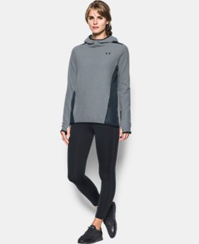 New Arrival Women's UA ColdGear® Infrared Popover Hoodie  2 Colors $79.99