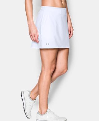 女子UA Links針織短褲裙