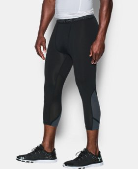 Best Seller Men's UA HeatGear® Armour CoolSwitch Supervent ¾ Leggings  3 Colors $59.99