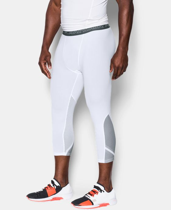 Best Seller Men's UA HeatGear® Armour CoolSwitch Supervent ¾ Leggings  1 Color $59.99