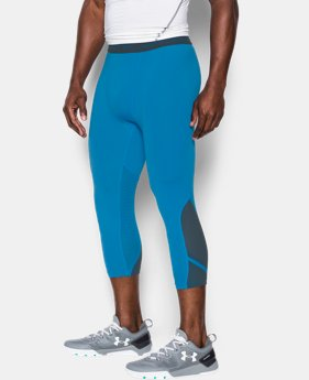 Men's UA HeatGear® Armour CoolSwitch Supervent ¾ Leggings LIMITED TIME: FREE U.S. SHIPPING 2 Colors $33.74 to $44.99