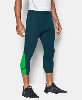 Best Seller Men's UA HeatGear® Armour CoolSwitch Supervent ¾ Leggings LIMITED TIME: FREE U.S. SHIPPING 1 Color $44.99