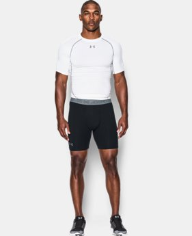 Men's UA HeatGear® Armour Compression Shorts w/ Cup Pocket