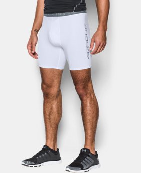 Men's UA HeatGear® Armour Compression Shorts w/ Cup Pocket  1 Color $34.99