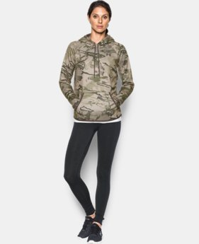 Women's UA Icon Camo Hoodie LIMITED TIME: 25% OFF 4 Colors $56.24 to $74.99