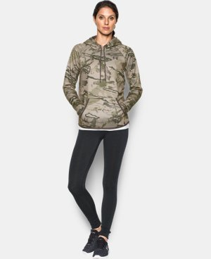 New Arrival  Women's UA Icon Camo Hoodie  3 Colors $63.74 to $84.99