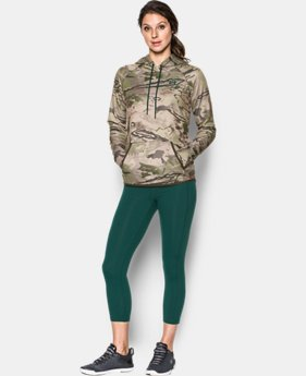 Women's UA Logo Camo Hoodie LIMITED TIME OFFER 8 Colors $56.24