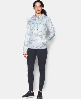 Women's UA Logo Camo Hoodie LIMITED TIME OFFER 1 Color $56.24