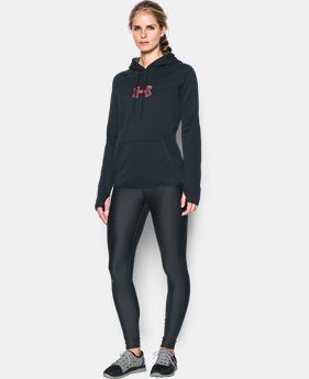 New to Outlet Women's UA Logo Caliber Hoodie LIMITED TIME OFFER 7 Colors $29.99