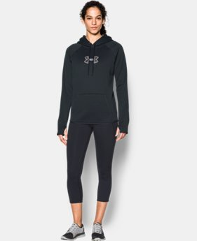 New to Outlet Women's UA Logo Caliber Hoodie LIMITED TIME OFFER  $29.99