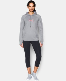 Women's UA Logo Caliber Hoodie LIMITED TIME OFFER  $29.99