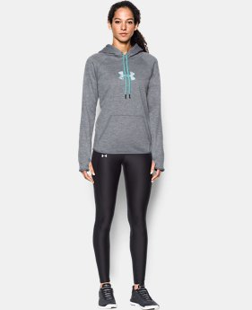 Women's  UA Logo Caliber Hoodie  2 Colors $56.24