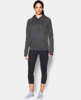 Women's  UA Logo Caliber Hoodie  1  Color $37.49 to $48.99